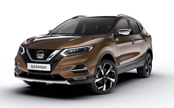 Nissan Qashqai leasen3