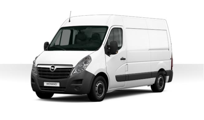 Opel Movano leasen 1